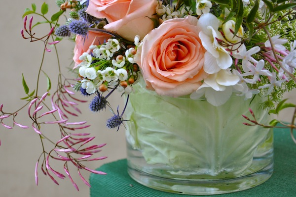 St. Patrick's Day Flowers - Cabbage Vase