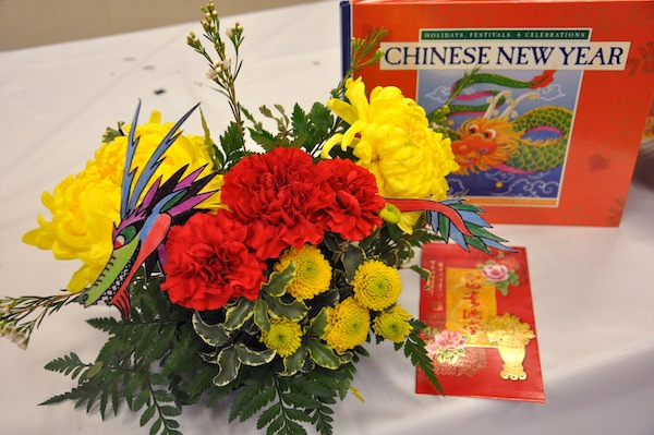 Year of the Dragon flowers by flowerduet.com