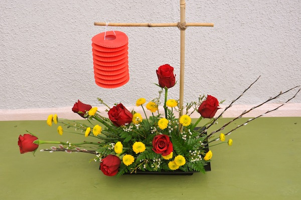 Chinese New Year Flowers by flowerduet.com