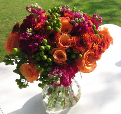 Fall Flower Wrap
