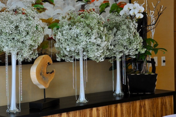 Baby S Breath Tall Centerpieces