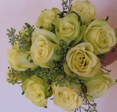 Flowers Pictures Roses. Green Jade Roses