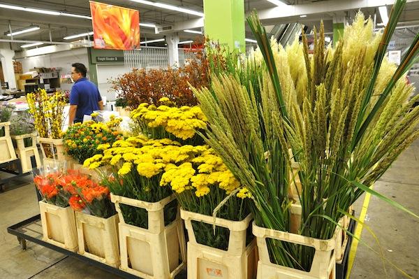 Summer Flowers at Market