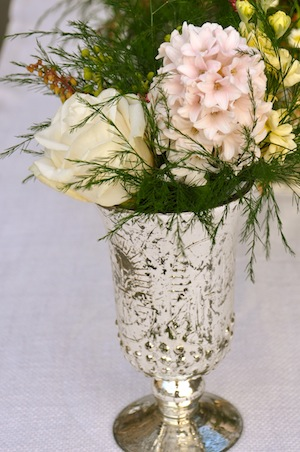 New Mercury Glass Vases