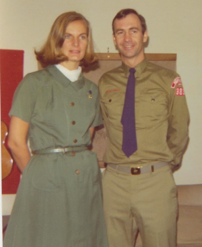 Scout Leaders Mom and Dad