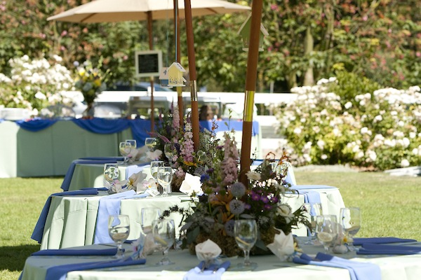 Wildflower Wedding Reception