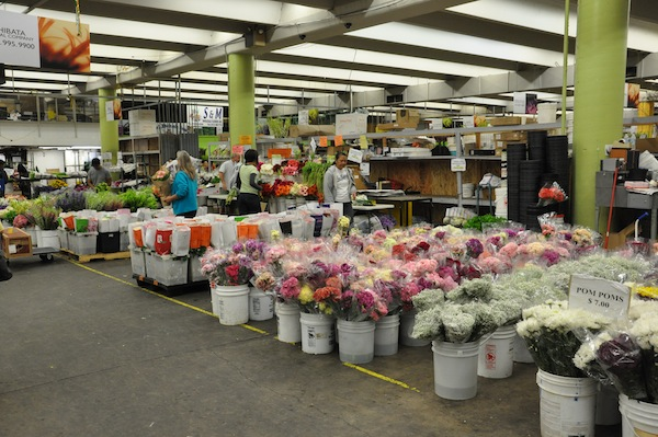 los angeles wholesale flower market