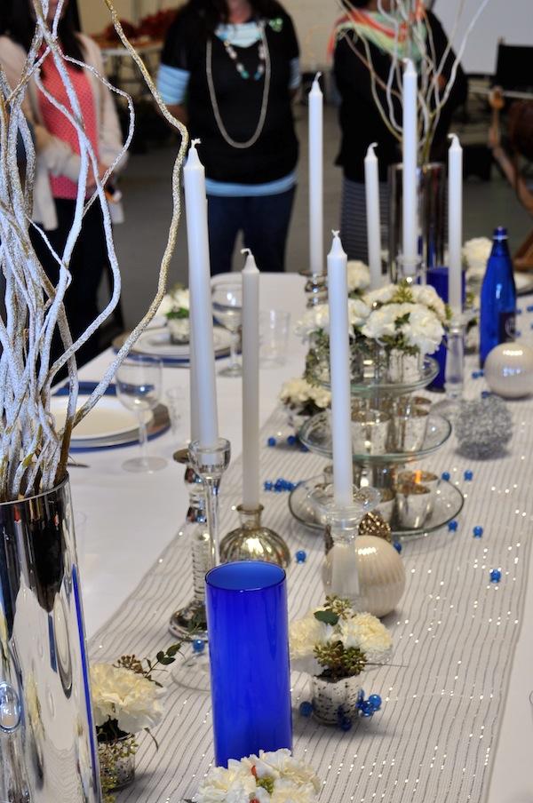 Hanukkah Tabletop Flowers