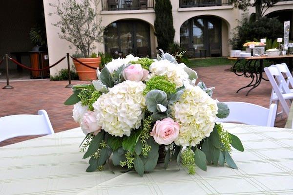 Garden roses Centerpiece