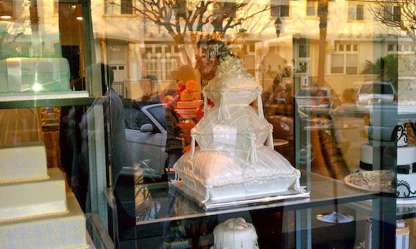 Torrance Bakery Wedding Industry Event - Wedding Cake Showroom Window