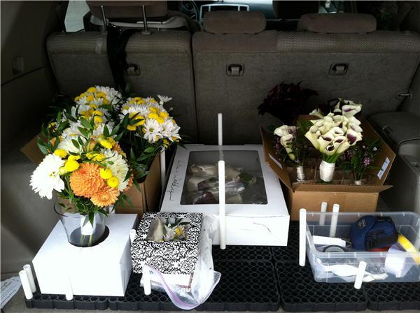 Florist Stories Transporting Flowers For Weddings